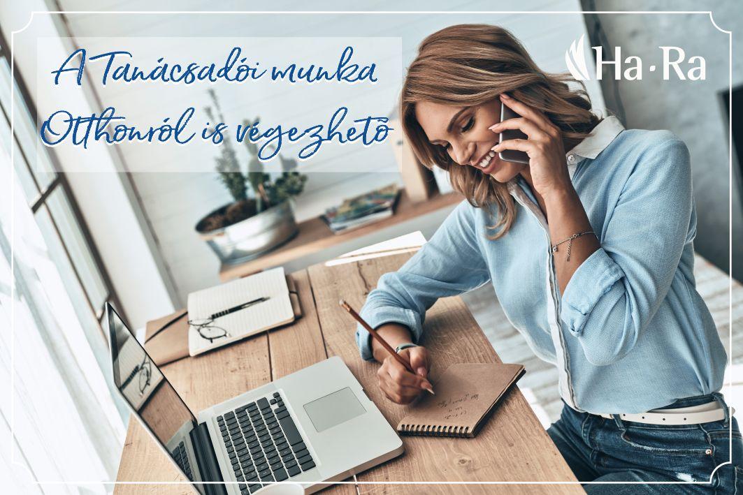 A Tanácsadói munka Otthonról is végezhető