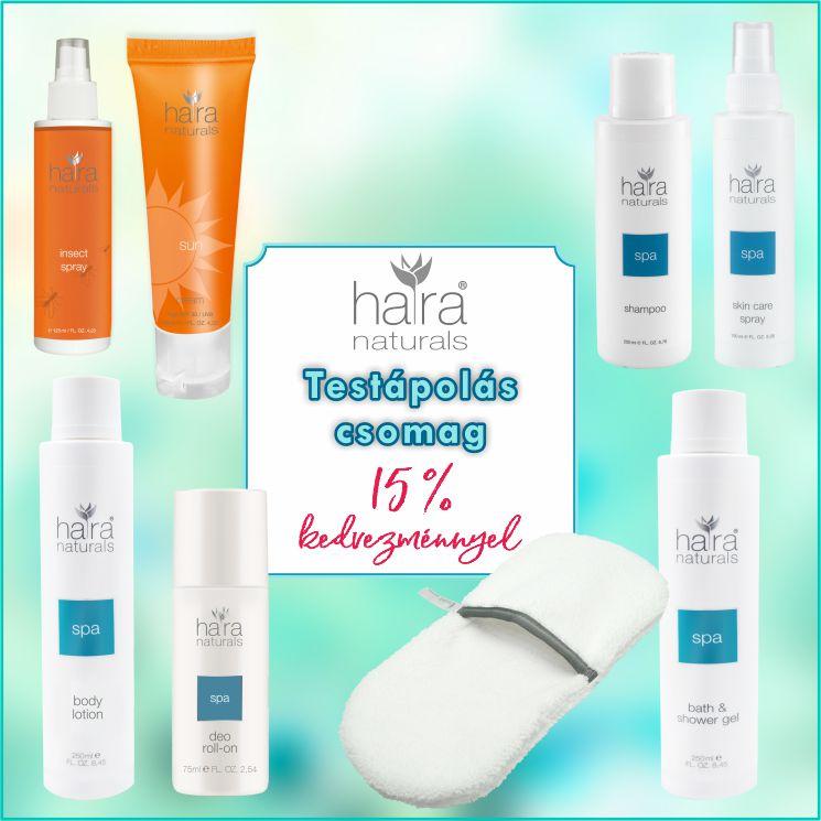 Naturals Testápolás csomag